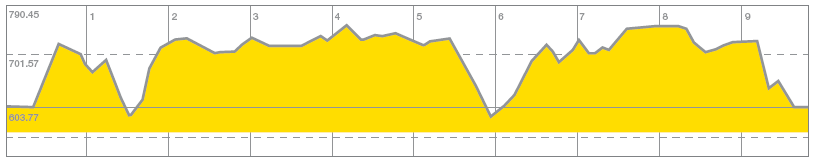 Quarryman Challenge elevation profile
